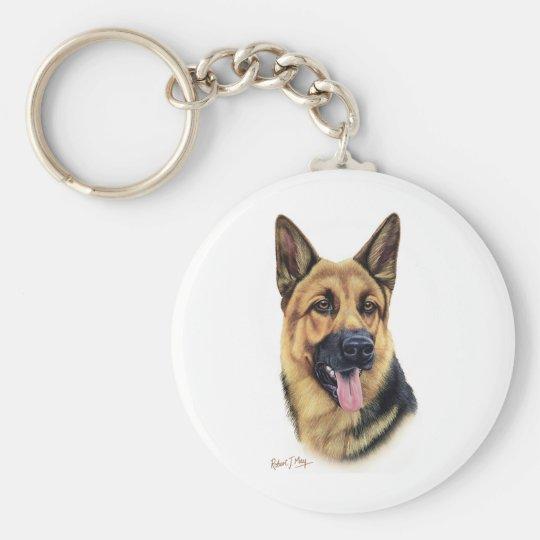 Schäferhund Schlüsselanhänger