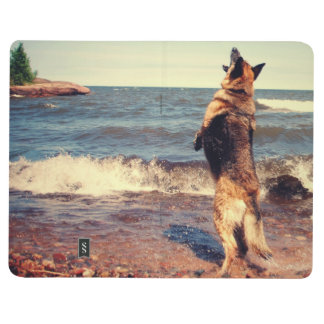 Schäferhund Taschennotizbuch