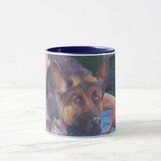Schäferhund-Tasse Tasse