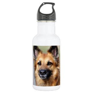 Schäferhund Trinkflasche