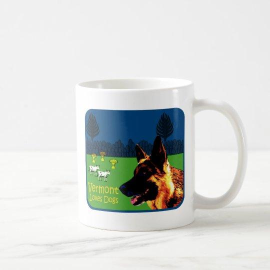 Schäferhund Vermonts Kaffeetasse