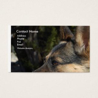 Schäferhund-Visitenkarte Visitenkarte