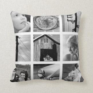 Schaffen-Ihr-Eigenes Foto-Collagethrow-Kissen Zierkissen