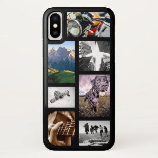 Schaffen-Ihr-Eigenes Foto/Grafik/Logo-Bild-Collage iPhone X Hülle