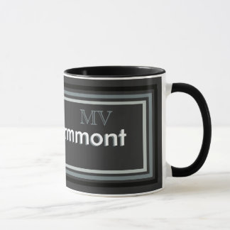 schaffen Sie ein personalisiertes Monogramm Tasse