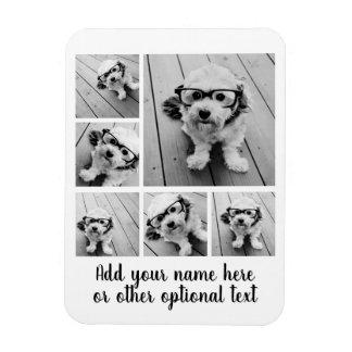 Schaffen Sie eine kundenspezifische Foto-Collage Magnet