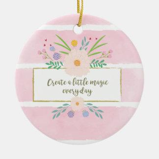 Schaffen Sie eine wenig Magie! Keramik Ornament