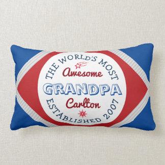 Schaffen Sie fantastischstes der Großvater-Logo Lendenkissen