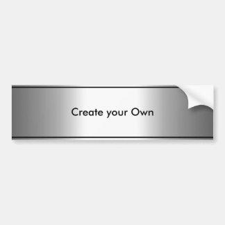 Schaffen Sie Ihr eigenes Autoaufkleber-Silber u. s Autoaufkleber