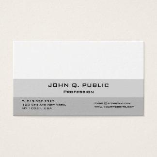 Schaffen Sie Ihr eigenes modernes berufliches Visitenkarte