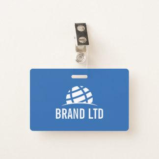 Schaffen Sie Ihr eigenes Unternehmens-Logo Ausweis