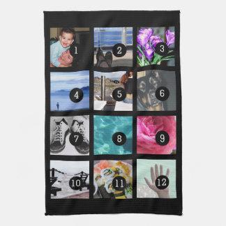 Schaffen Sie Ihre Bilder der Foto-Art 12 Handtuch