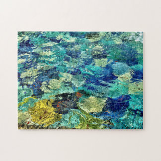Schaffen Sie Ihre eigene abstrakte Kunst 11 x 14