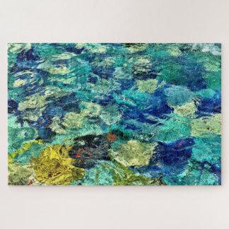 Schaffen Sie Ihre eigene abstrakte Kunst 20 x 30