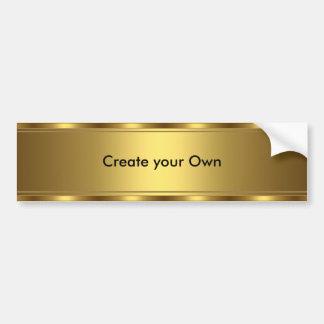 Schaffen Sie Ihre eigene Autoaufkleber-Goldordnung Autoaufkleber