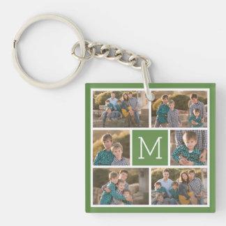 Schaffen Sie Ihre eigene Foto-Collage - 6 Fotos Schlüsselanhänger