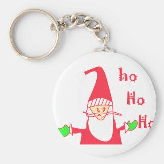 Schaffen Sie Ihre Selbst Ho Ho Ho frohe Schlüsselanhänger