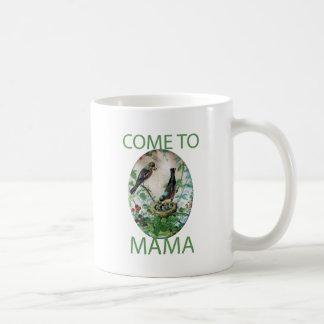 Schaffen Sie Ihre Selbst kommen zu Mutter Kaffeetasse