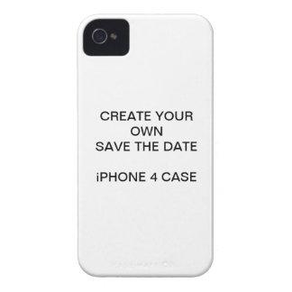 SCHAFFEN Sie IHRE SELBST SAVE THE DATE iPHONE 4 iPhone 4 Hüllen
