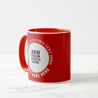 schaffen Sie Ihre speziellen zwei roten Bilder Tasse