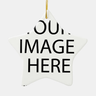Schaffen Sie Ihren eigenen Entwurf u. Text Keramik Stern-Ornament