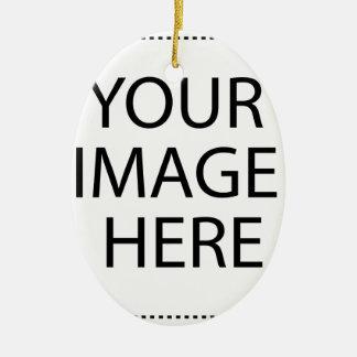 Schaffen Sie Ihren eigenen Entwurf u. Text Ovales Keramik Ornament