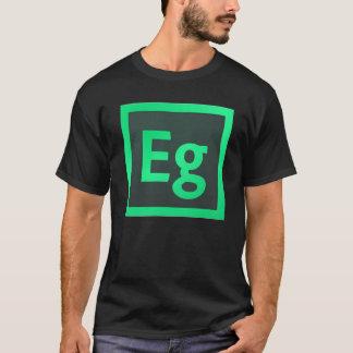 Schaffen Sie Inhalt für das moderne Netz T-Shirt