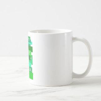 Schaffen Sie Livearbeit Kaffeetasse
