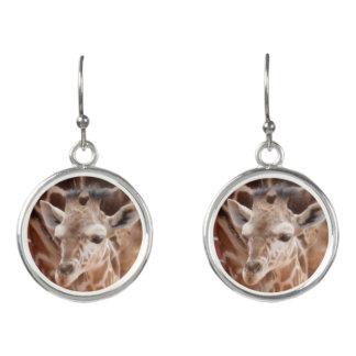 Schaftmaschinen-Baby-Giraffen-Ohrringe Ohrringe