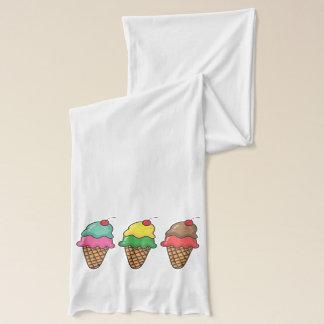 Schal hisst Cream