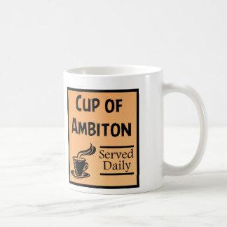 Schale Ehrgeiz lustig Kaffeetasse