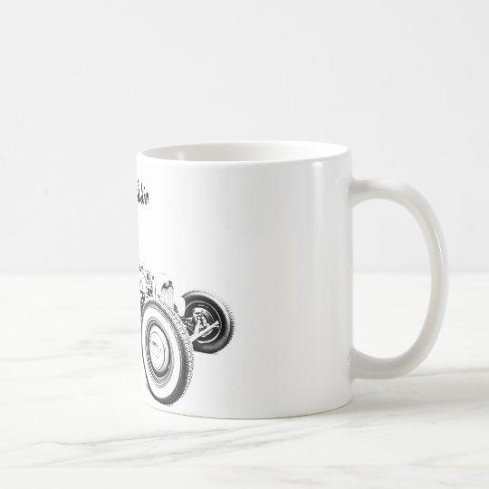 Schale Ratten-Rod Coffe Kaffeetasse