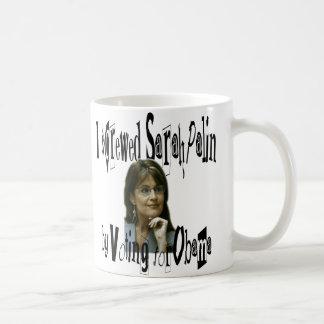 Schale Sarahs Palin oder Kaffee-Tasse Tasse
