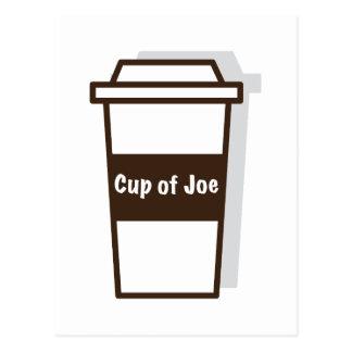 Schale von Joe Postkarte
