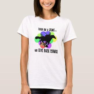 Schalten Sie ein Groschen T-Shirt angebrachte