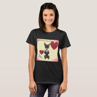 Scharfes gekleidete Chihuahua T-Shirt