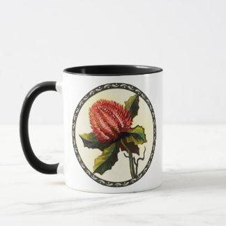 Scharlachrot Banksia- Tasse