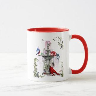 Scharlachrot des Affe-2 Tasse