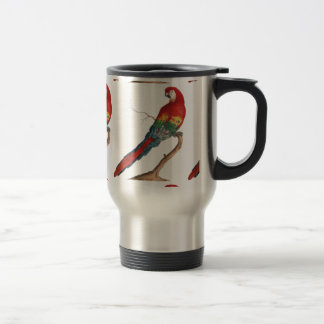Scharlachrot des Macaw-, Ara Macao Reisebecher