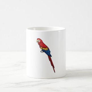 Scharlachrot Macaw- Kaffeetasse