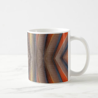 Scharlachrot Macawfeder-Entwurf Kaffeetasse