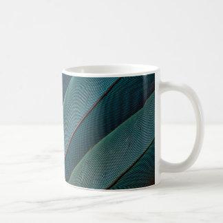 Scharlachrot Macawpapageien-Feder Kaffeetasse