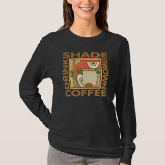 Schatten angebauter Kaffee T-Shirt