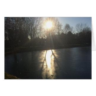 Schatten auf Eis, Karte