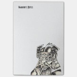 Schatten der Samurais Post-it Haftnotiz