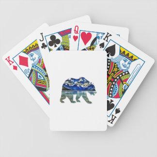 Schatten des Blaus Bicycle Spielkarten