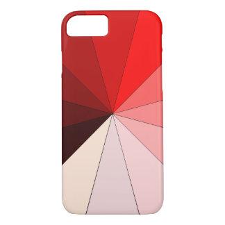 Schatten des Rotes iPhone 7 Hülle