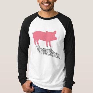 Schatten-Geheimnis-lange Hülse T T-Shirt