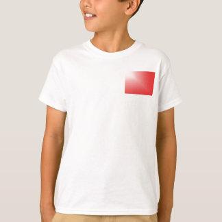 Schatten Schablone, die FREIER RAUM TEXT-BILD T-Shirt