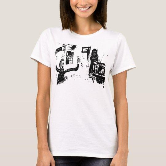 Schatten von Fernsehgeist (2) T-Shirt